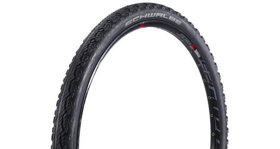 "SCHWALBE Hurricane Performance Dæk 27,5"" trådet sort"